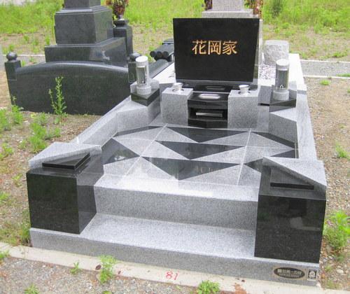 花岡家オリジナルデザイン墓石1.JPGのサムネール画像