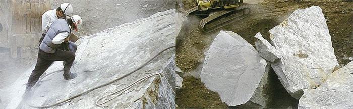 庵治石の鉱物鮮度