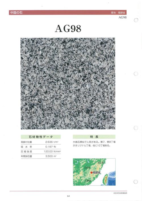 まぎらわしい名称で販売される中国産墓石